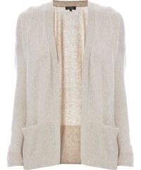 Caroll Orsay - Gilet en laine mélangée - crème