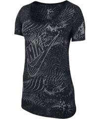 Nike Burnout Glitch - T-Shirt - schwarz