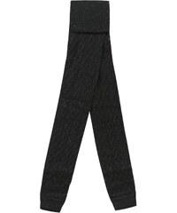 B Karo Strumpfhose - schwarz