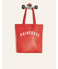 sac à main imprimé râleuse rouge Jennyfer