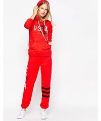 Sundry USA - Pantalon de survêtement - Rouge