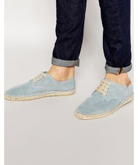 Bronx - Espadrilles à lacets - Bleu - Bleu