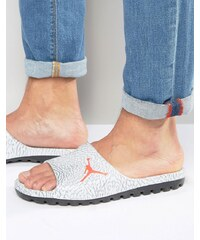 Nike - Air Jordan Superfly 842400-007 - Tongs style mules - Gris - Gris