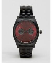 Nixon - Time Teller Deluxe - Montre - Noir - Noir