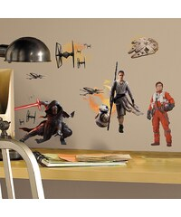 JOY TOY Wandsticker, 4 Blätter, »Disney Star Wars?, Episode VII Wandtattoos«