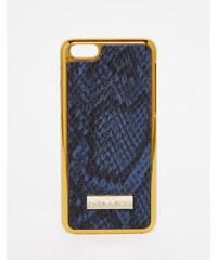 Skinnydip Skinny Dip - Etui pour iPhone 5C aspect peau de serpent - Gris