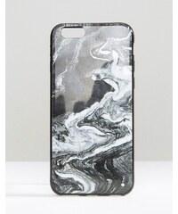 Signature - Marmorierte iPhone 6-Hülle - Schwarz