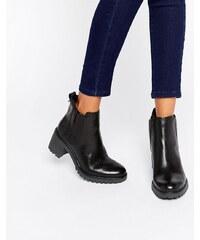 Timberland - Averly - Bottines chelsea en cuir noir - Noir