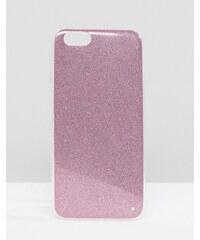 Signature - Glitzernde iPhone 6-Hülle - Violett