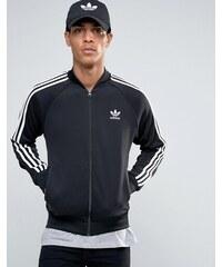 adidas Originals - Superstar AY7059 - Veste de survêtement à logo trèfle - Noir