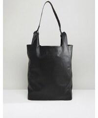 ASOS - Fourre-tout en imitation cuir - Noir