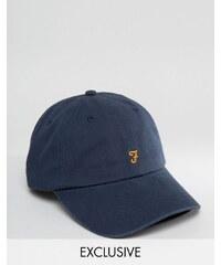 Farah - Casquette de baseball exclusivité ASOS - Bleu marine - Bleu marine