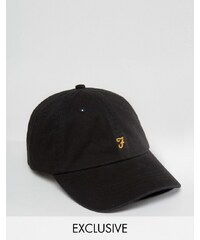 Farah - Casquette de baseball - Noir - Exclusivité ASOS - Noir