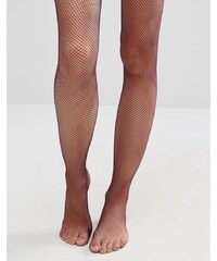 ASOS - Collants résille - Baie - Violet