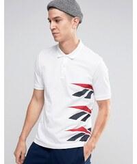 Reebok - Vector AZ9544 - Polo avec logo - Blanc - Blanc