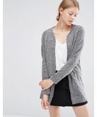 Vero Moda - Cardigan avec poches - Gris