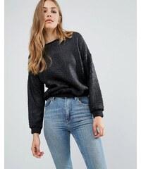 Pepe Jeans - Pendle Cracked - Sweatshirt - Silber