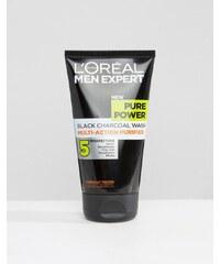 L'Oreal Paris - Men Expert Pure Power - Gesichtsreiniger mit Tiefenwirkung 150 ml - Mehrfarbig