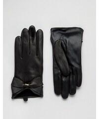 Ted Baker - Gants en cuir - Large - Noir