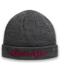 Esprit Měkká pletená čepice s výšivkou Brooklyn