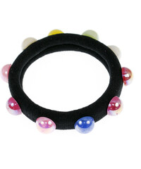 Vlasová gumička perla barevná 1ks