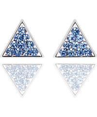 Náušnice trojúhelník pecky NE0420-0330