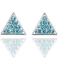 Náušnice trojúhelník pecky NE0420-0315