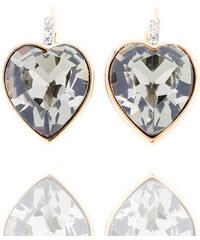 Náušnice krystalové srdce NE0851-0348