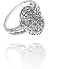Prsten SilverBall stříbro se zirkony PR0033-095612