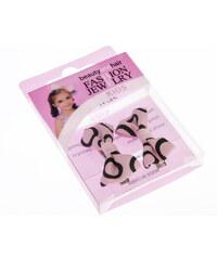 Dívčí sponky do vlasů se zoubky mašle DM0010-1335