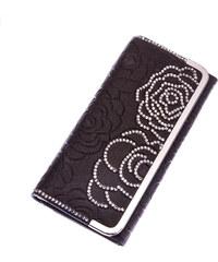 Dámská peněženka Weichen Rose s krystalky