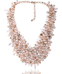 Náhrdelník s perly, krystaly a kamínky NK0262-0301
