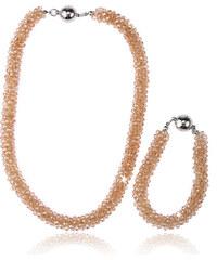 Sada náhrdelník a náramek Beads s korálky SD0065-34