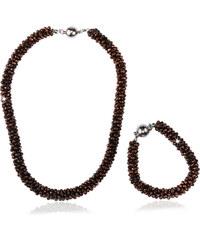Sada náhrdelník a náramek Beads s korálky SD0065-08