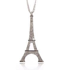 Přívěsek Paříž Eiffelovka krystal PK0415-0312