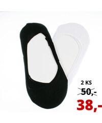 Dámské ponožky do balerín bambusové ťapky 2 ks
