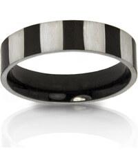 Prsten pruhy chirurgická ocel PR0111-016312