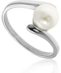 Prsten s perlou chirurgická ocel PR0026-015201