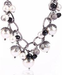 Náhrdelník perly a korálky NK0104-0313