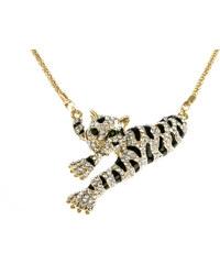 Náhrdelník tygr s krystalky NK0220-0214