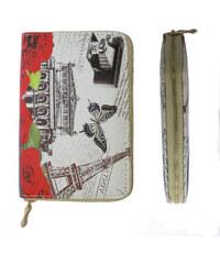 Dámská peněženka vintage velkoměsta PN0012-44