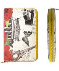 Dámská peněženka vintage velkoměsta PN0012-11