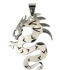 Přívěsek chirurgická ocel čínský drak PK0294-0112