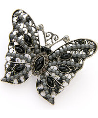 Brož motýl etno styl BR0170-0302