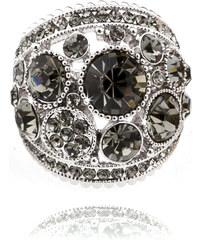 Prsten masivní s krystaly PR0084-036013