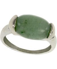 Prsten polodrahokam - avanturín zelený PR0098-035610