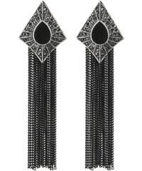 Náušnice gotické s řetízkem NE0276-0302