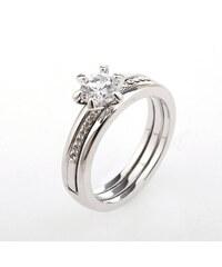 Prsten dvoudílný s krystalem PR0087-036012