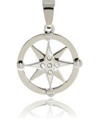Přívěsek kompas chirurgická ocel PK0318-0107