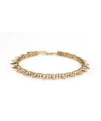 Náhrdelník s hroty zlatý NK0076-0314